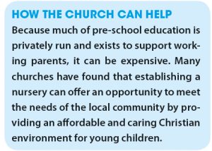 How the church can help