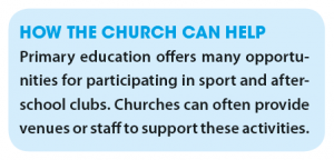Primary how the church can help